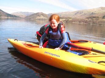 Kayak Taster Session