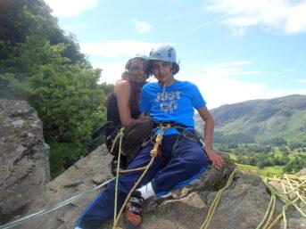 Rock Climbing Progression Day