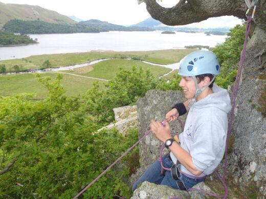 Learn to Lead Climbing